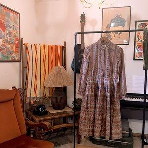 Abe Schrader vintage high neck dress